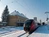 Az ÖBB 5022 059-7 pályaszámú Desiro motorvonata Feldbach állomáson
