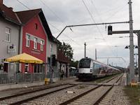 175 �ves a vas�t Ausztri�ban - �nneps�g Kismartonban a 1116 249 �ltal vontatott Werbe-railjettel (a vez�rlőkocsi a 80-90.749)