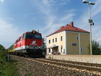 Az ÖBB 2143 009-5 Lépesfalva-Somfalva állomáson