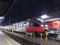 Az ÖBB 4124 017-7 Wien Südbahnhof (Ostseite) állomáson