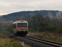 A GYSEV 247 505 Jaffa-színezésben Lépesfalva-Somfalva (Loipersbach-Schattendorf, Ausztria) és Ágfalva között