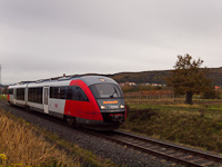 The ÖBB 5022 051-4 is seen between Ágfalva and Loipersbach-Schattendorf