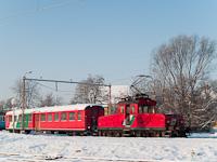 Feldbach Landesbahn a Feldbach - Bad Gleichenberg vasútvonal telepállomása - a képen az E41 pályaszámú mozdony egy személykocsival tolat