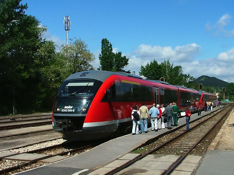 A 6342 004-6 Pilisvörösváro fotó