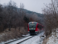 The MÁV 6342 022-8 seen between Szabadságliget and Pázmáneum