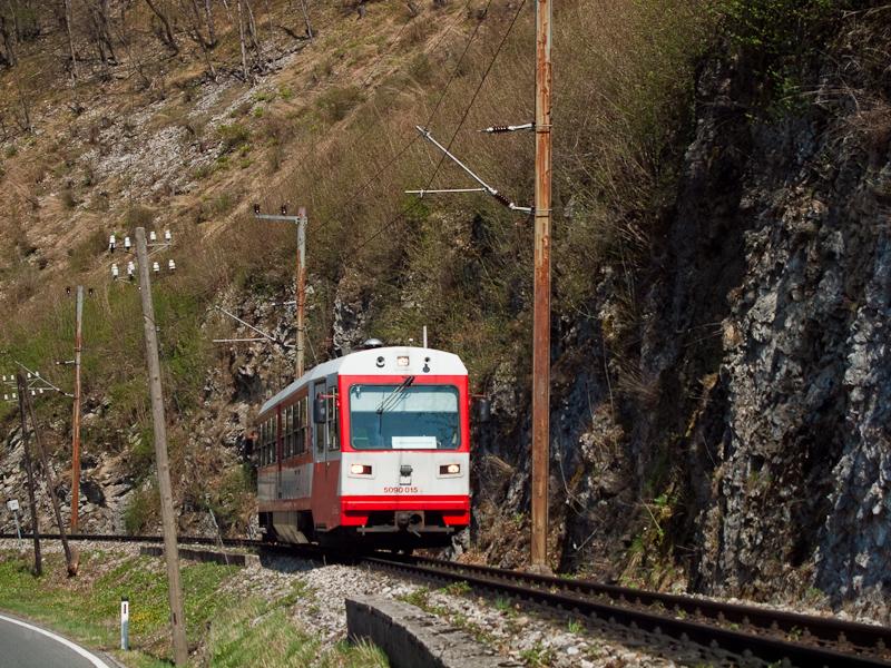Az 5090 015 Loich és Schwarzenbach között fotó