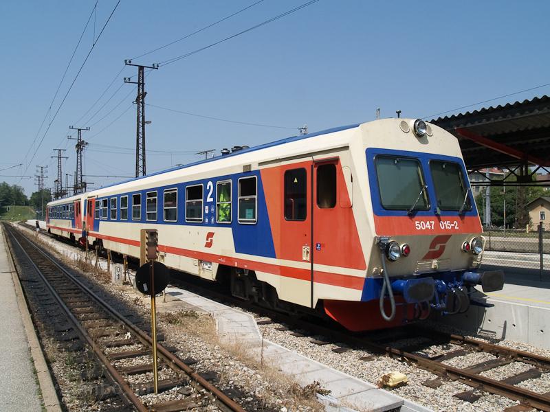 Az ÖBB 5047 015-2 St. Pöltenben fotó
