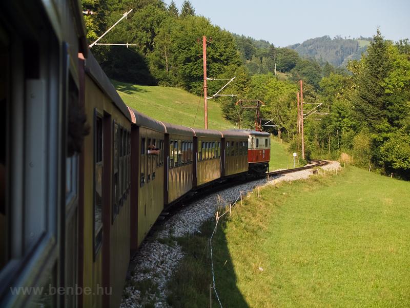 Az Ötscherbär Frankenfels közelében fotó