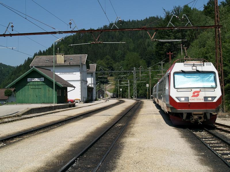 Az ÖBB 4090 002-9 Laubenbachmühle állomáson fotó
