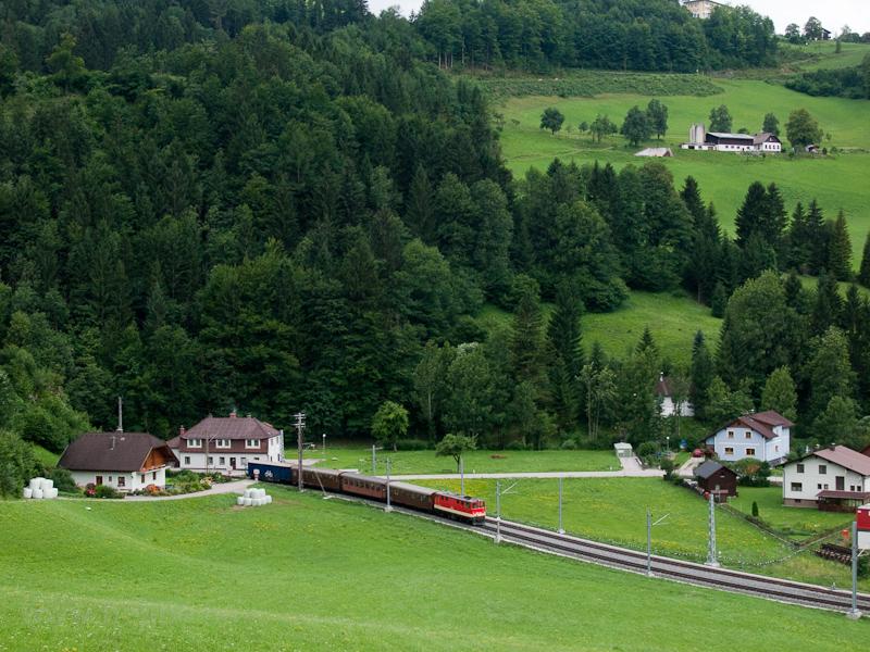 A NÖVOG 2095 015 érkezik a hegyről Laubenbachmühle állomásra fotó