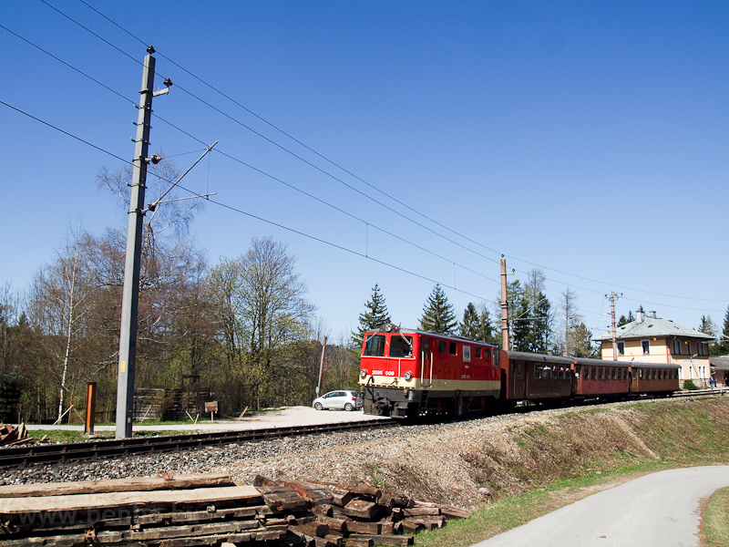 A NÖVOG 2095 009 Winterbachban fotó