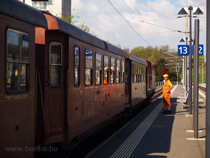 Shunting at St. Pölten Hauptbahnhof photo