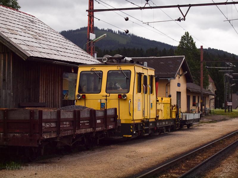 Pályafenntartási micsoda Annaberg állomáson fotó
