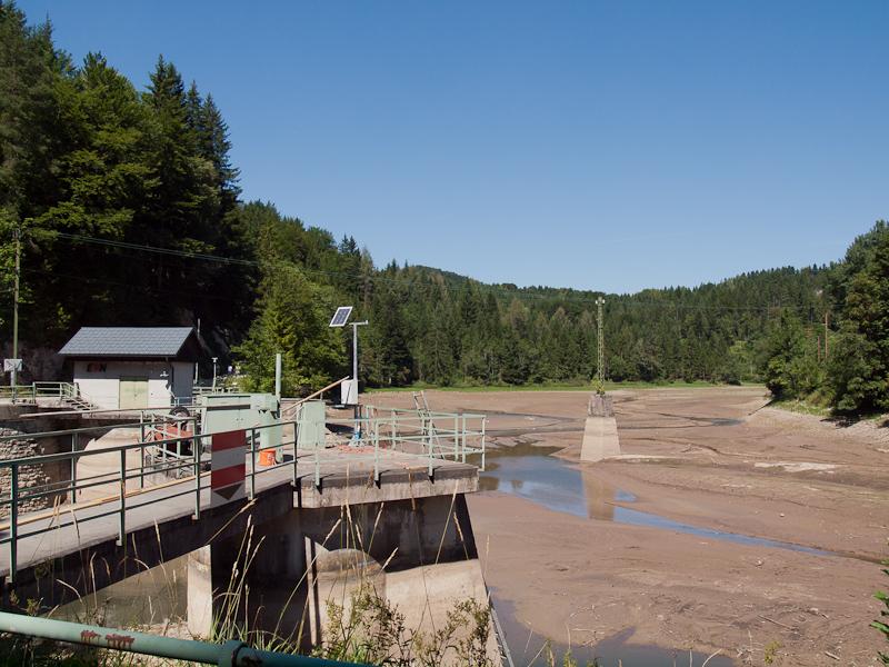 A wienerbrucki vízerőmű és a Lassing-stausee fotó