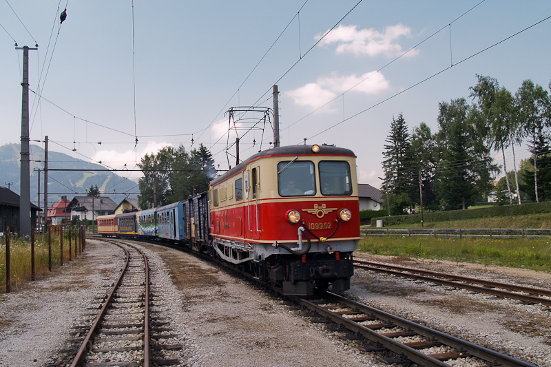 A 1099.02 Mariazell-St. Sebastian végállomáson fotó