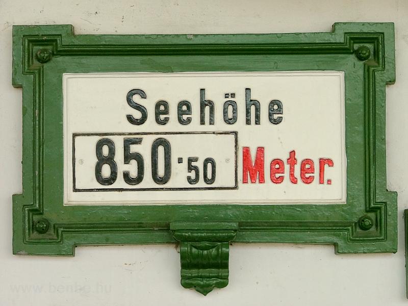 Mariazell 850.50 méter maga fotó