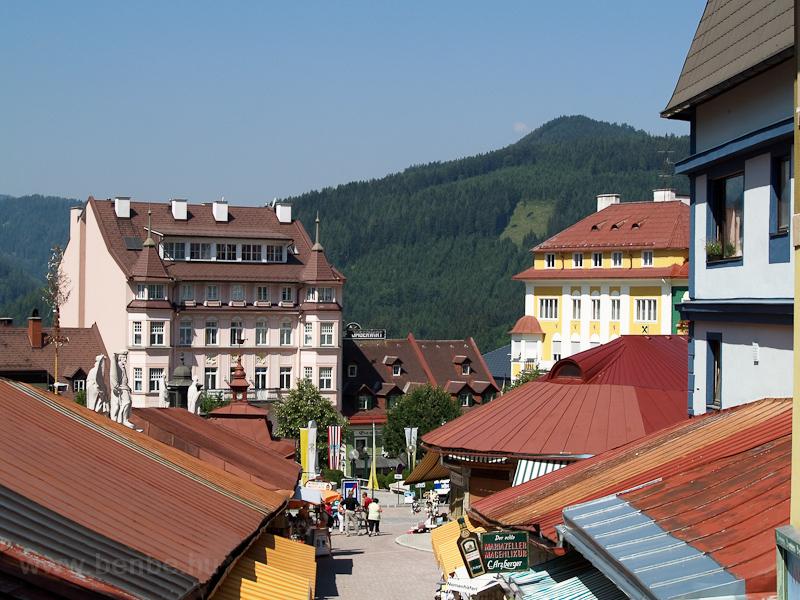Mariazell látképe fotó