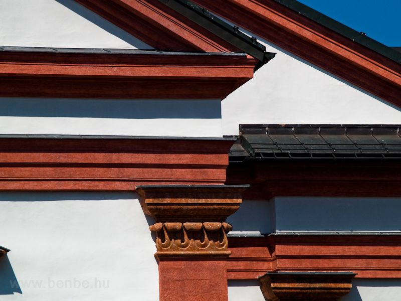 Details of the cathedral at Mariazell photo