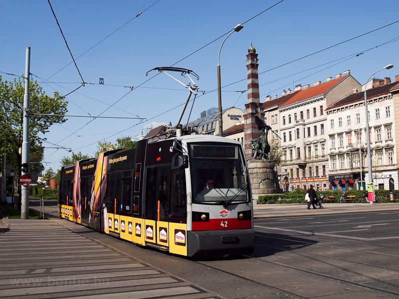 Villamos Bécsben fotó