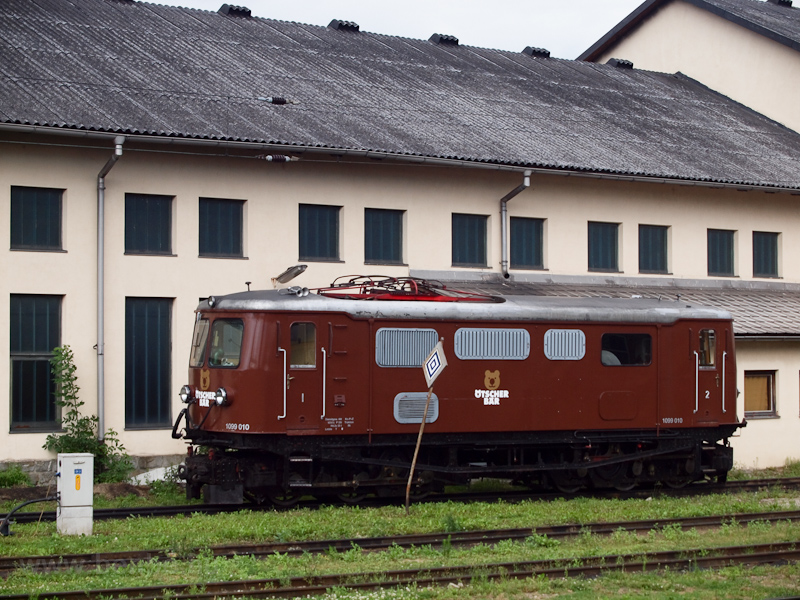 A 1099 010 Ötscher Bär villanymozdony St. Pölten Alpenbahnhofon fotó
