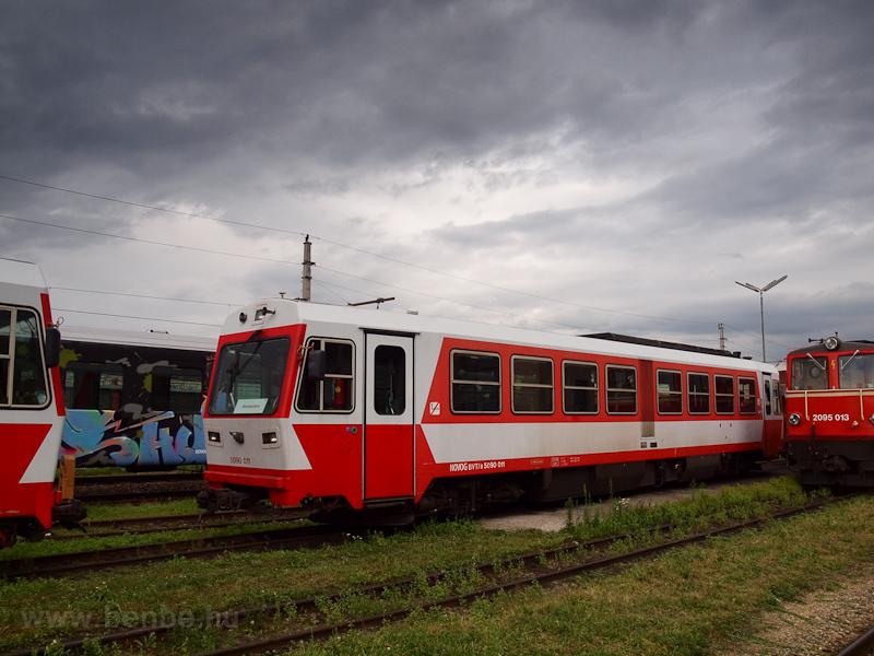 A NÖVOG 5090 011 St. Pölten Alpenbahnhof állomáson fotó