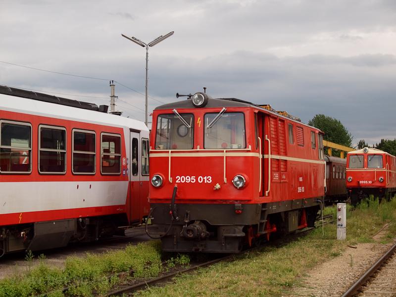 A NÖVOG 2095 013 St. Pölten Alpenbahnhof állomáson fotó
