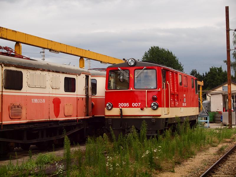 A NÖVOG 2095 007 St. Pölten Alpenbahnhof állomáson fotó