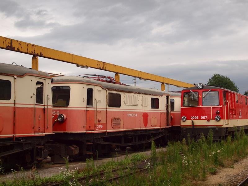 Az ÖBB 1099 005-9 St. Pölten Alpenbahnhof állomáson fotó