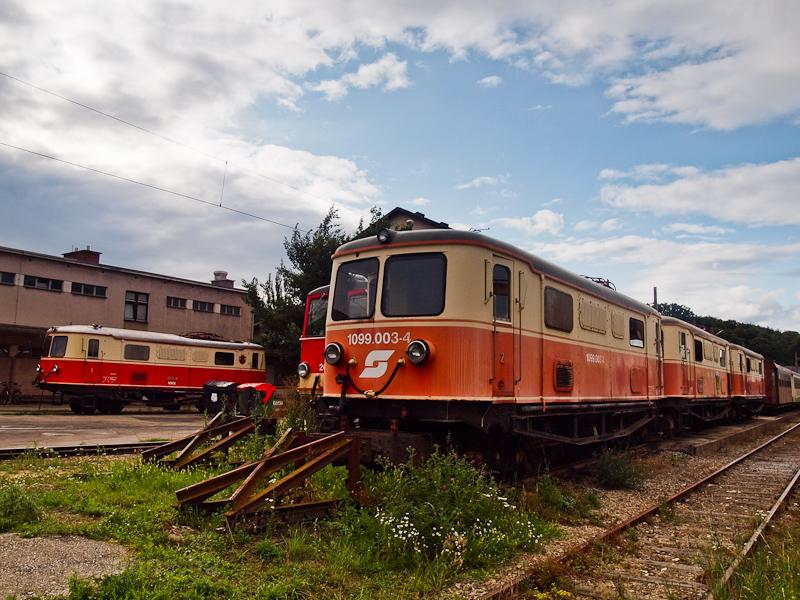 Az ÖBB 1099 003-4 St. Pölten Alpenbahnhof állomáson fotó