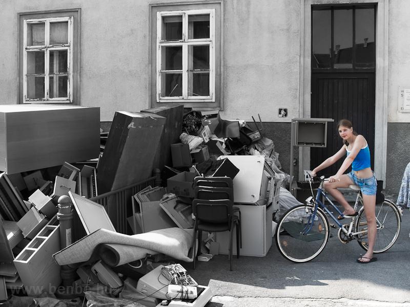 Lomtalanítás Sankt Pöltenbe fotó