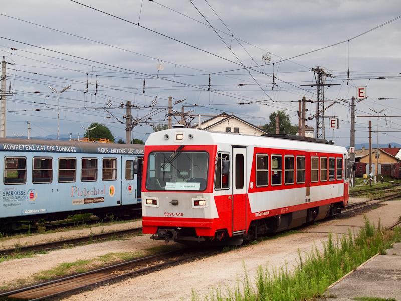 Az 5090 016 St. Pölten Alpenbahnhofon fotó
