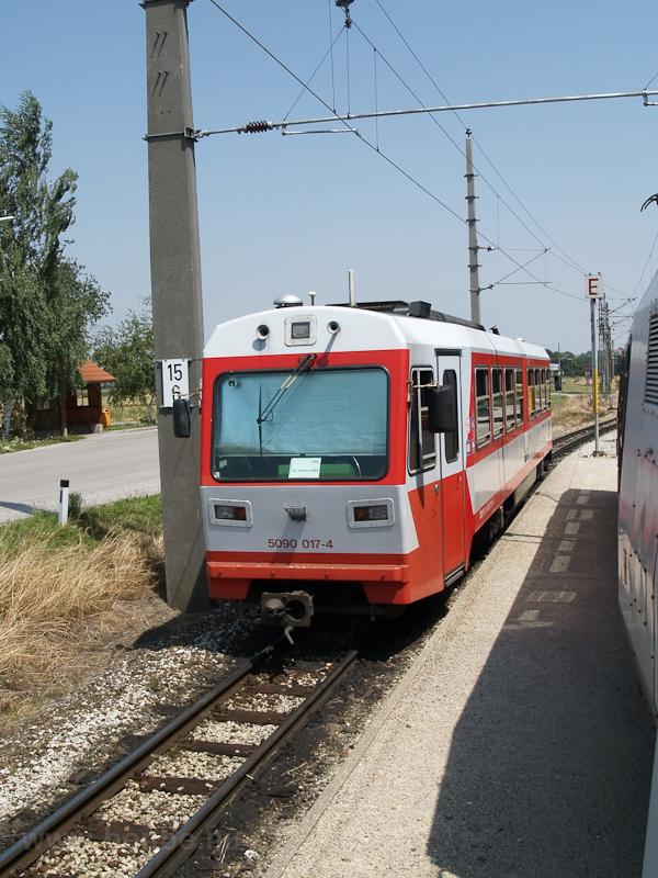 Az ÖBB 5090 017-4 Klangenbe fotó