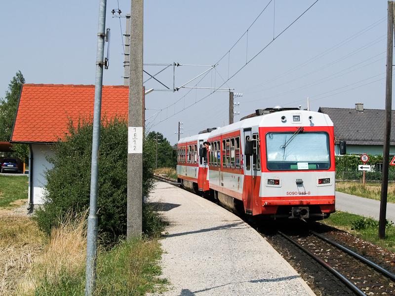 Az ÖBB 5090 015-8 Weinburgban fotó