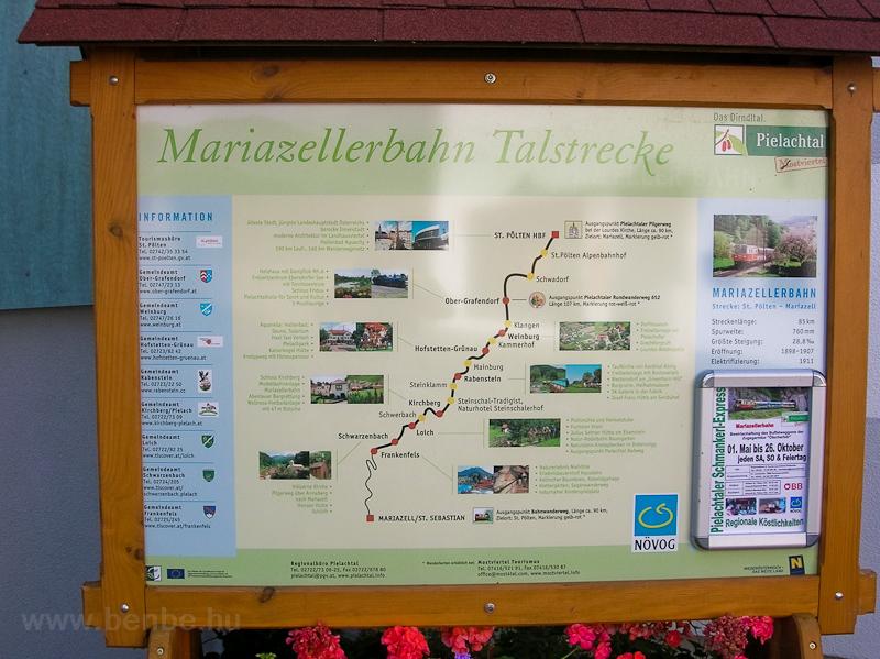 Információs tábla Rabensteinben fotó