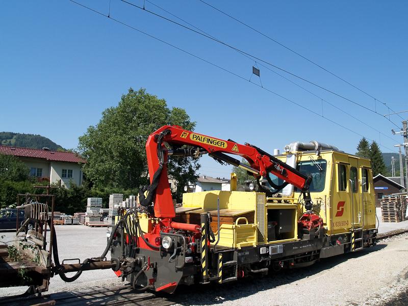Az X 629.901-0 darus PFT gép Kirchberg an der Pielach állomáson fotó
