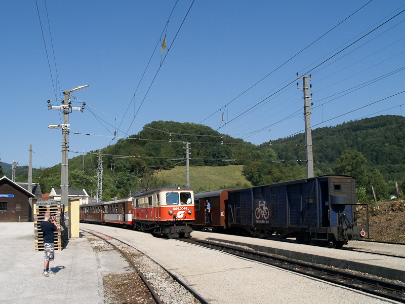 Az ÖBB 1099.004-2 Kirchberg an der Pielach állomáson fotó
