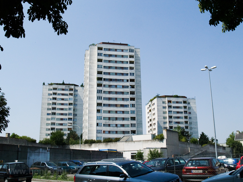 Blocks of flats in St. Pölten photo