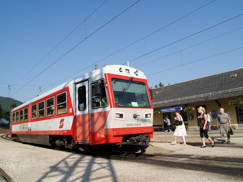 Az ÖBB 5090 016-6 Kirchberg an der Pielach állomáson fotó