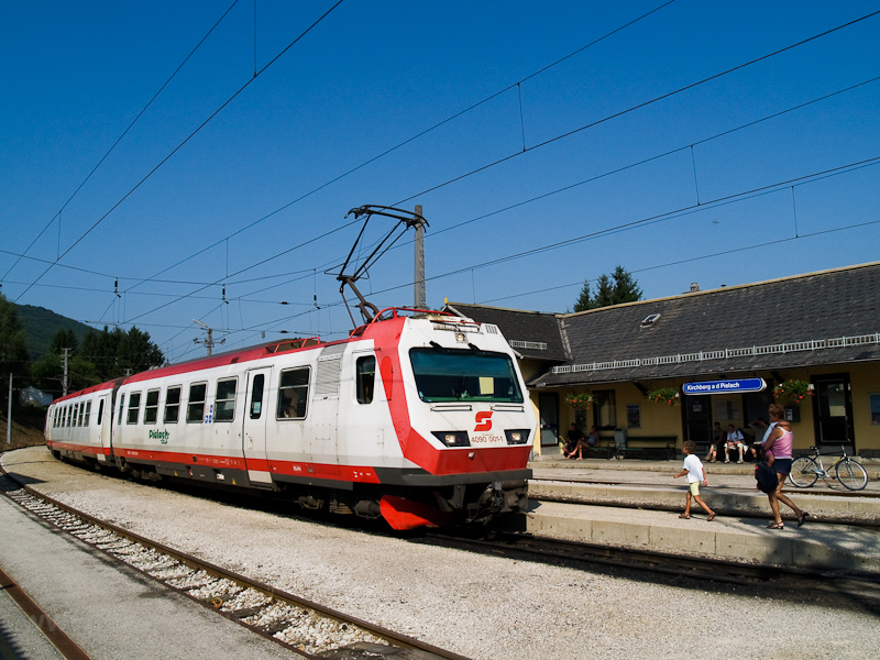 Az ÖBB 4090 001-1 Kirchberg an der Pielach állomáson fotó