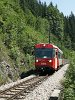 The ÖBB 5090 004-2 is seen between Unter Buchberg and Laubenbachmühle with a passenger train from Mariazell