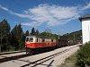 A NÖVOG 1099.016 Gösing állomáson az Ötscher Bär vonattal