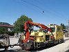 The crane vehicle X 629.901-0 seen at Kirchberg an der Pielach