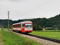 The ÖBB 5090 015-8 is seen between Schwerbach and Kirchberg an der Pielach