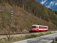 The 5090 015 seen between Frankenfels and Schwarzenbach