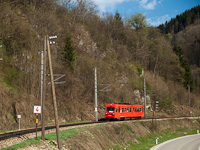 The NÖVOG 5090 007 seen between Frankenfels and Schwarzenbach