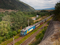 The Vest Trans Rail 40 0261-0 seen between Ohaba de sub Piatra and Ciopeia