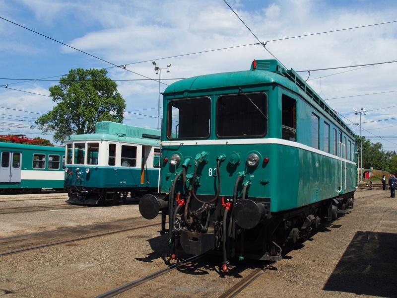 A BHÉV 83-as pályaszámú, LVII-es mozdony, ismertebb nevén a Tigris fotó