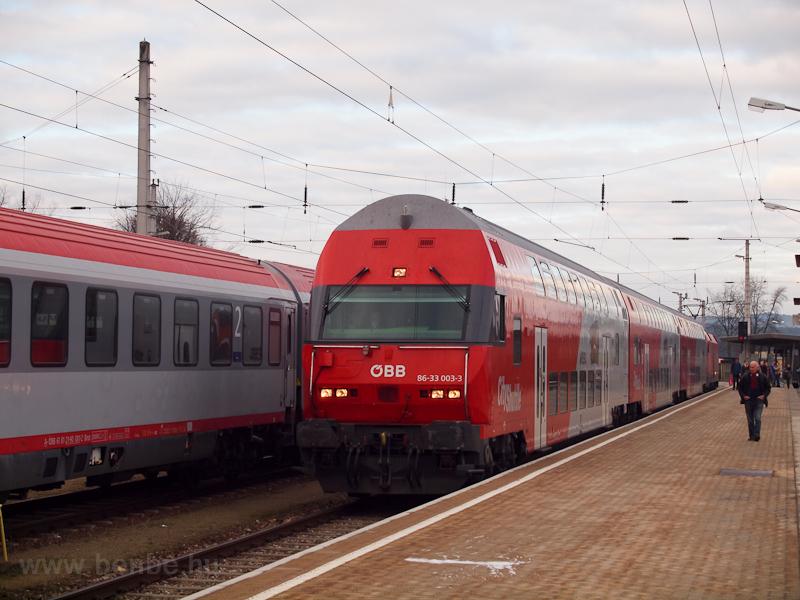 Èeske Velenicéből Wien Franz-Josefs-Bahnhofra tartó REX Gmündben fotó