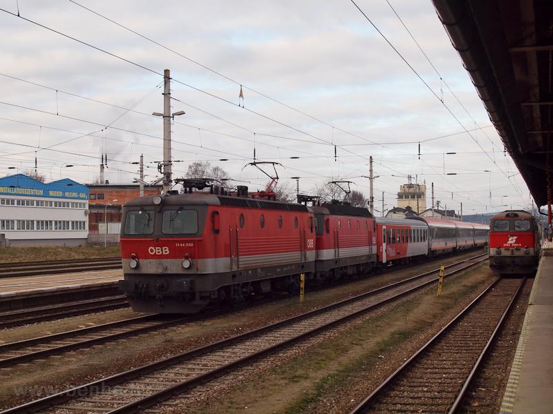 Az ÖBB 1144 058 Gmündben fotó
