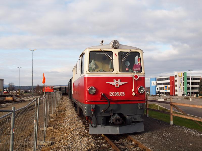 A BBÖ 2095.05 Gmündben fotó